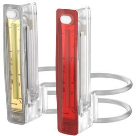 Knog Plus Twinpack Sistema di illuminazione, trasparente/colorato